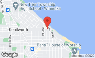 Map of 817 Westerfield Drive WILMETTE, IL 60091