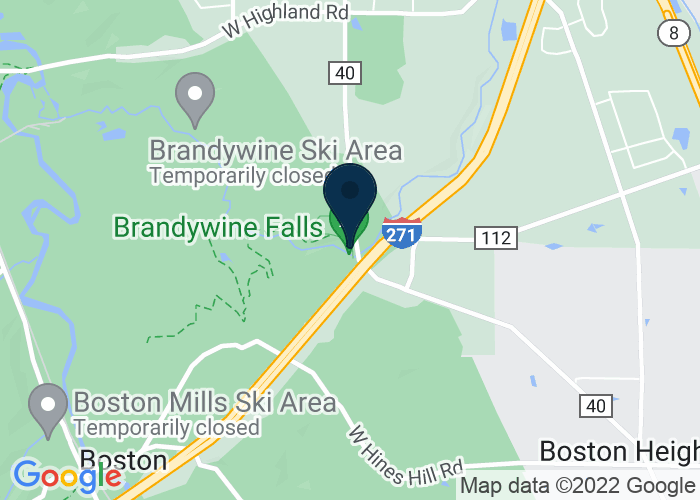 Map of 8176 Brandywine Road, Northfield, OH 44067, United States