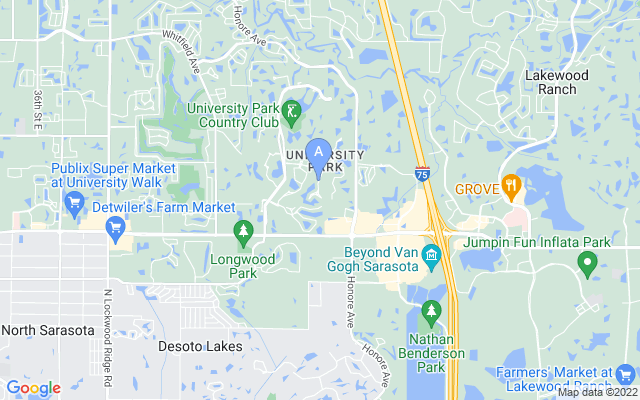 8184 Collingwood Ct University Park Florida 34201 locatior map