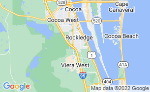 Map of Space Coast RV Resort