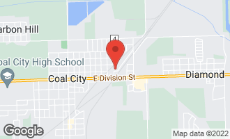 Map of 820 East 1st Street COAL CITY, IL 60416