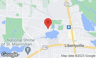 Map of 820 Lake Street LIBERTYVILLE, IL 60048
