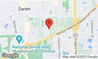 Map of 8201 Sawyer Court DARIEN, IL 60561