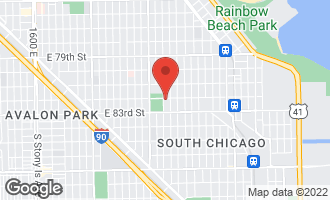 Map of 8205 South Essex Avenue CHICAGO, IL 60617