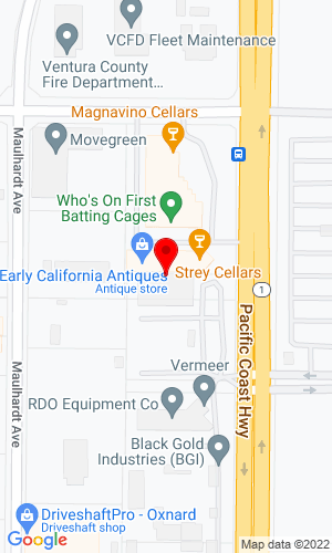 Google Map of Diamond A. Equipment 821 North Rice Avenue, Oxnard, CA, 93030