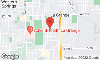 Map of 821 South Spring Avenue LA GRANGE, IL 60525
