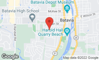 Map of 821 Walnut Street Batavia, IL 60510