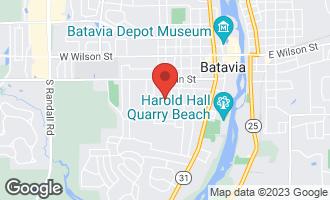 Map of 821 Walnut Street BATAVIA, IL 60510