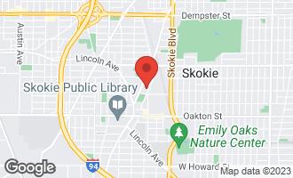 Map of 8210 Elmwood Avenue #307 SKOKIE, IL 60077
