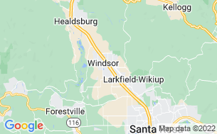 Map of Windsor Wine Country RV Park