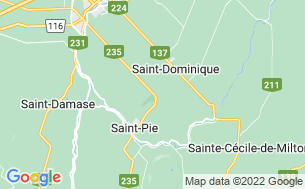 Map of Camping Saint-Pie