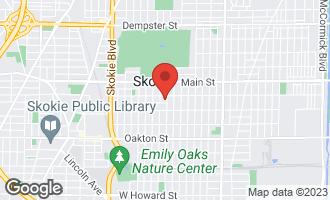Map of 8242 Kostner Avenue SKOKIE, IL 60076