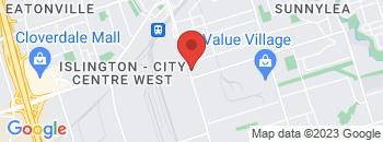 Google Map of 825+Kipling+Avenue%2CToronto%2COntario+M8Z+5G8