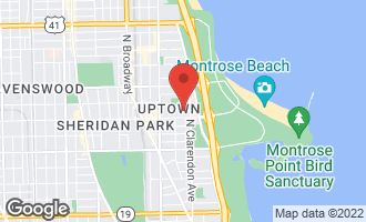 Map of 825 West Eastwood Avenue 1W CHICAGO, IL 60640