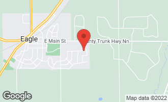 Map of 826 Leeds Drive Eagle, WI 53119