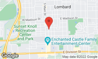 Map of 827 South Charlotte Street LOMBARD, IL 60148