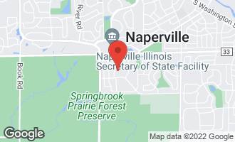 Map of 828 Cardiff Road NAPERVILLE, IL 60565