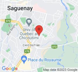 Google Map of 829+Boulevard+Talbot%2CChicoutimi%2CQuebec+G7H+4B5