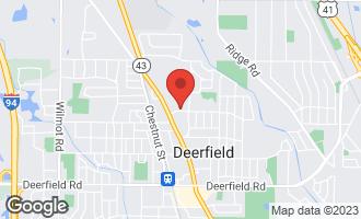 Map of 830 Warwick Road DEERFIELD, IL 60015