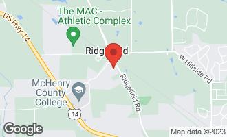 Map of 8307 Ridgefield Road CRYSTAL LAKE, IL 60014