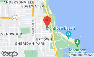 Map of 831 West Ainslie Street GR CHICAGO, IL 60640