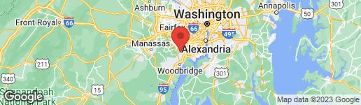 Map of 8310 LINDEN OAKS COURT LORTON, VA 22079
