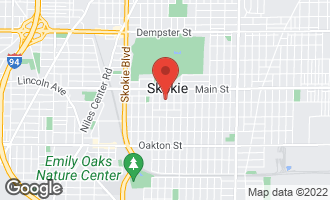 Map of 8312 Kilbourn Avenue SKOKIE, IL 60076