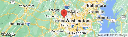 Map of 833 BLACKS HILL ROAD GREAT FALLS, VA 22066