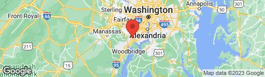 Map of 8334 TERRA GRANDE AVENUE SPRINGFIELD, VA 22153