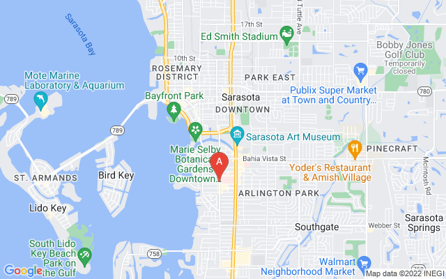 835 S Osprey Ave #309 Sarasota Florida 34236 locatior map