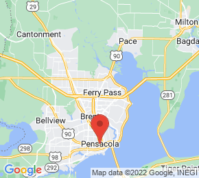 Job Map - 8383 NORTH DAVIS HIGHWAY Pensacola, Florida 32514 US