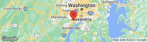 Map of 8390-D Terminal Road Lorton, VA 22079