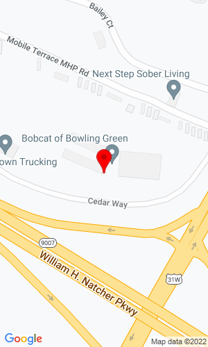 Google Map of Bobcat of Bowling Green 84 Cedar Way , Bowling Green, KY, 42101