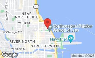 Map of 840 North Lake Shore Drive #1803 CHICAGO, IL 60611