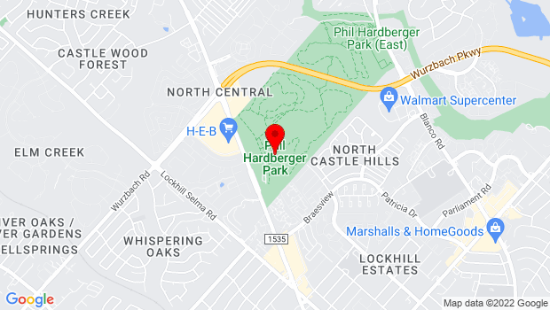 Google Map of 8400 NW Military Hwy, San Antonio, TX