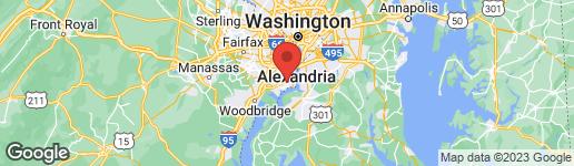 Map of 8410 WAGON WHEEL ROAD ALEXANDRIA, VA 22309