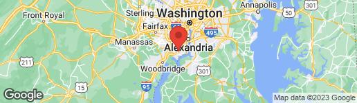 Map of 8415 ORINDA COURT #272 ALEXANDRIA, VA 22309