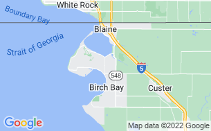 Map of Birch Bay RV Campground