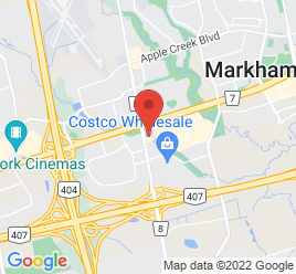 Google Map of 8435+Woodbine+Avenue%2CMarkham%2COntario+L3R+2P4