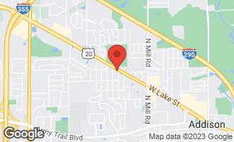 Map of 845-855 West Lake Street ADDISON, IL 60101