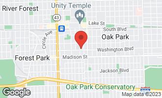 Map of 846 Washington Boulevard #2 OAK PARK, IL 60302