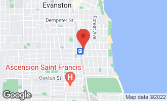 Map of 847 Chicago Avenue #811 EVANSTON, IL 60202