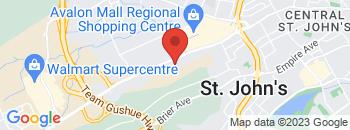 Google Map of 85+Kenmount+Road%2CSt+John%27s%2CNewfoundland+A1B+3N7