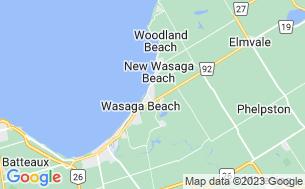 Map of Wasaga CountryLife Cottage & RV Resort - Parkbridge