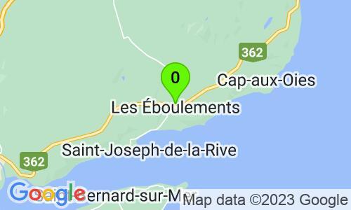 Carte du 85, rang Sainte-Catherine, Les Éboulements, G0A2M0, Québec