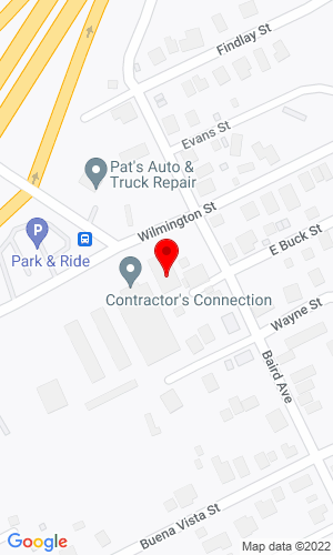 Google Map of Contractor'S Connection LLC 850 Wilmington Avenue, Washington, PA, 15301