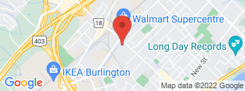 Google Map of 850+Brant+Street%2CBurlington%2COntario+L7R+2J5