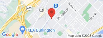 Google Map of 850+Brant+Street%2CBurlington%2COntario+L7R+2J5