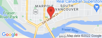 Google Map of 850+S.W.+Marine+Drive%2CVancouver%2CBritish+Columbia+V6P+5Z1