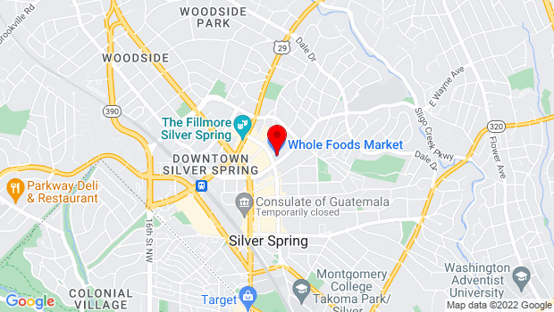 Google Map of 8505 Fenton Street, Silver Spring, MD 20910